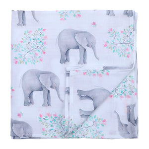 Single Swaddle Muslin Baby Blanket