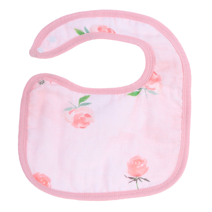 Single Snap Muslin Bib
