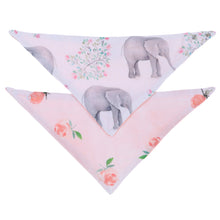 Load image into Gallery viewer, Muslin Bandana Bibs (2 Pack)