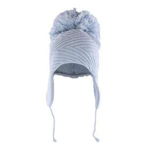 Ava Superfine Merino Wool Pom Pom Hat