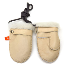 Load image into Gallery viewer, Love Winter Sheepskin Baby Mittens
