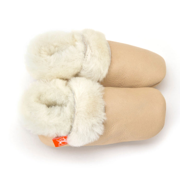 Love Winter Sheepskin Baby Booties