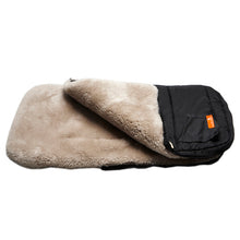 Load image into Gallery viewer, Snuggle Pod Sheepskin Footmuff in Latte