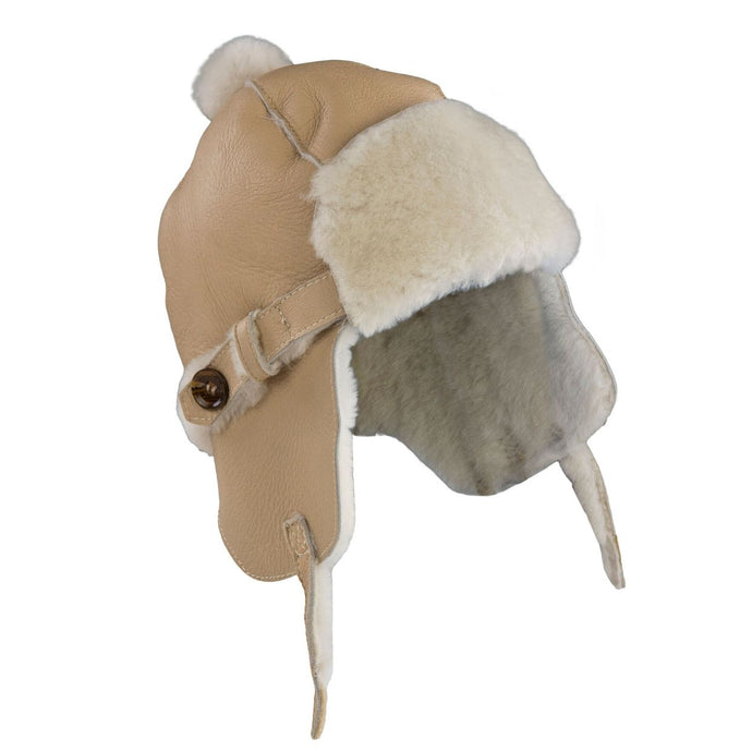 Love Winter Aviator Shearling Trapper Hat