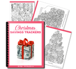 Christmas Savings Trackers