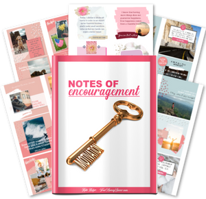 Notes Of Encouragement - Motivation To Inspire Your Heart While You Get Out Of Debt