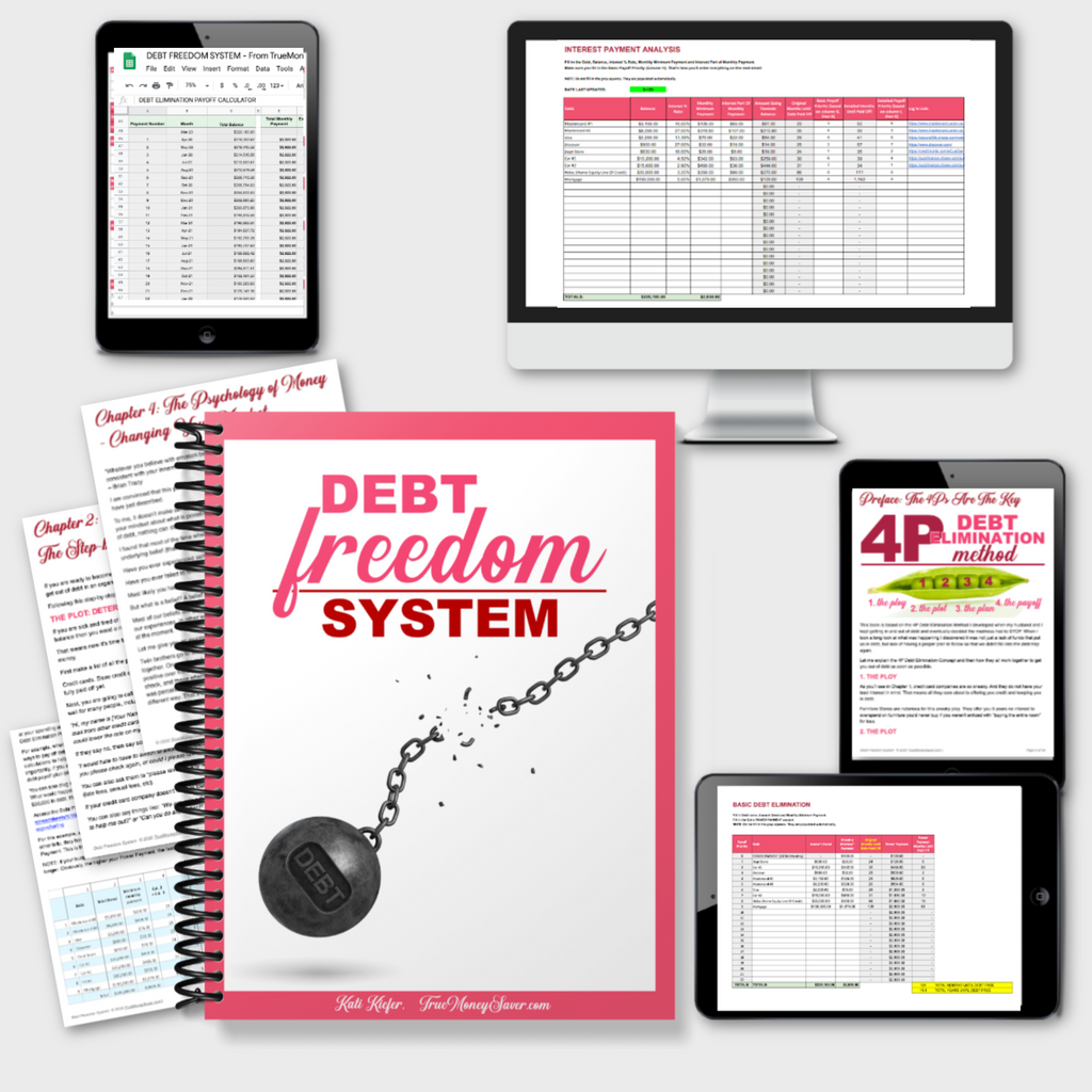 Debt Freedom System - Eliminate Debt Once & For All