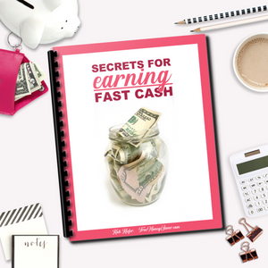 Secrets For Earning Fast Cash Guide - Sell Your Stuff For More Money
