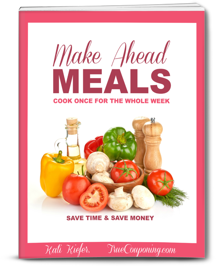 Make Ahead Meal Plan - Cook Once For The Whole Week
