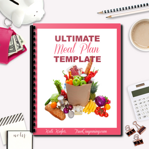 Meal Plan Templates - Quickly Plan Your Meals This Week