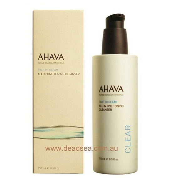 AHAVA -All in One Toning Cleanser