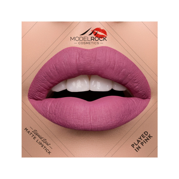 Modelrock Liquid Last Lipstick - Played In Pink_The Bridal Bar