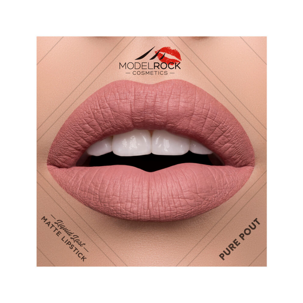 Modelrock Liquid Last Lipstick- Pure Pout_The Bridal Bar