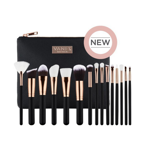 Vani-T Make Up Brush Collection_The Bridal Bar