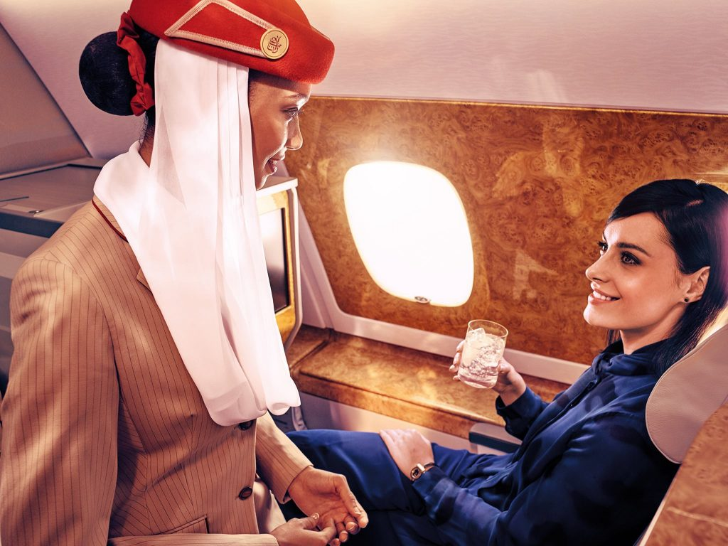 Voya launches on Emirates First and Business Class Flights