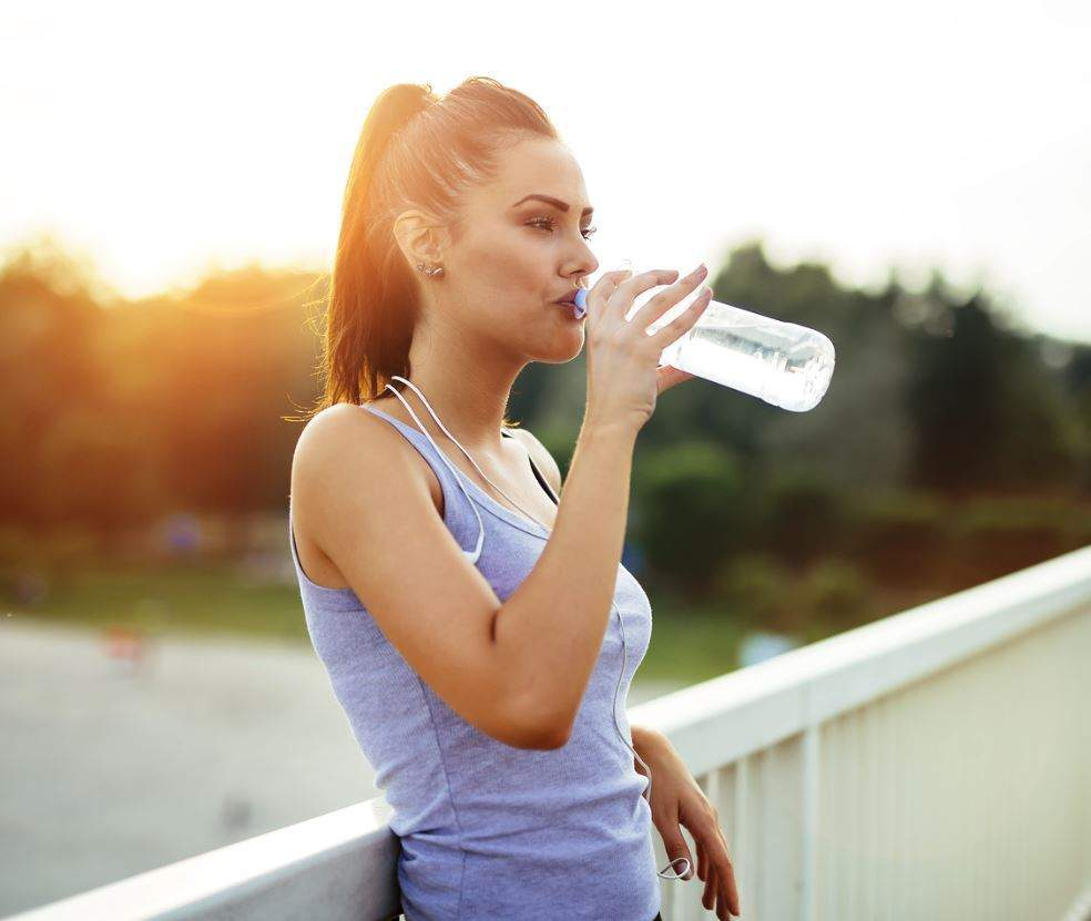 Hydrate after working out