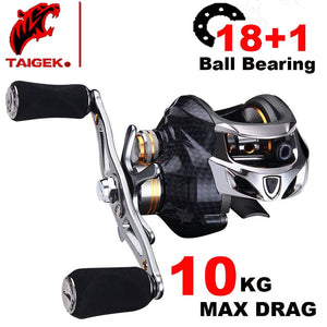 Fishing Reel Carbon Shell Lightweight 217g