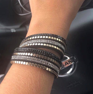 Bling Out Wrap Bracelet