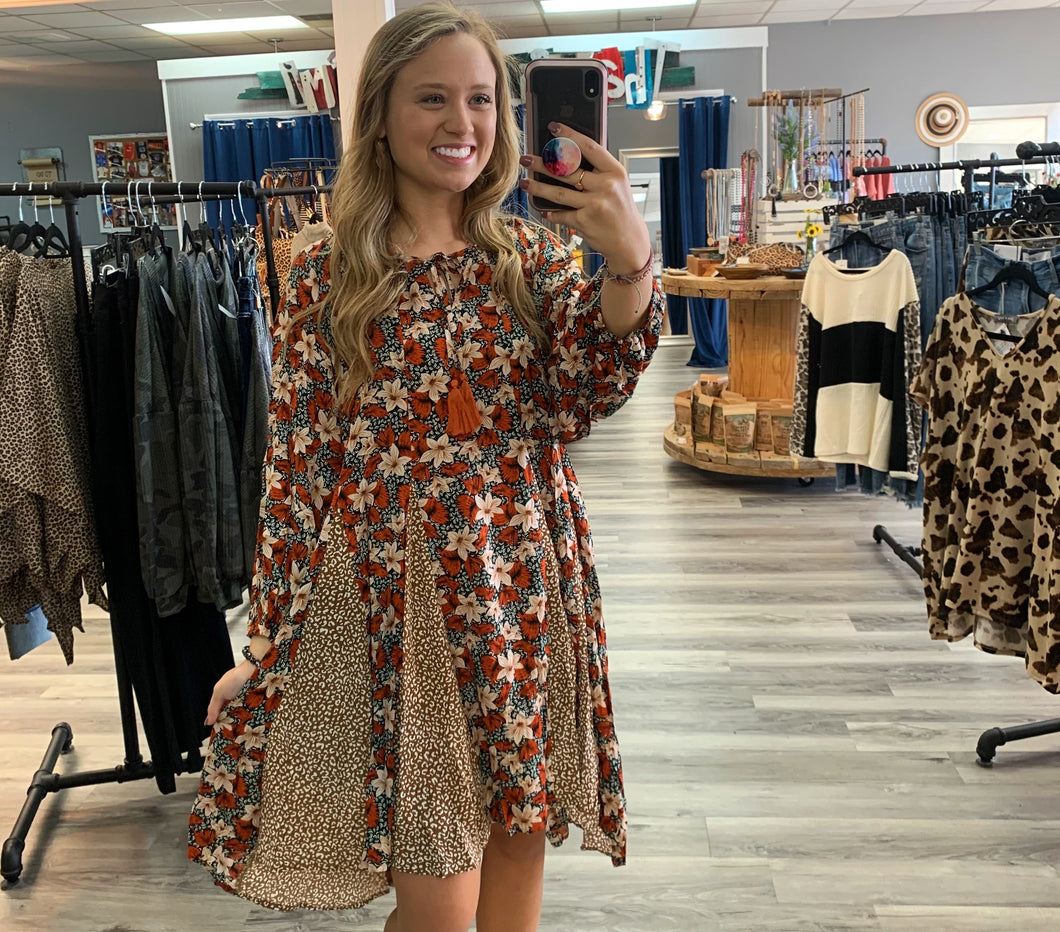 Floral Beauty Dress