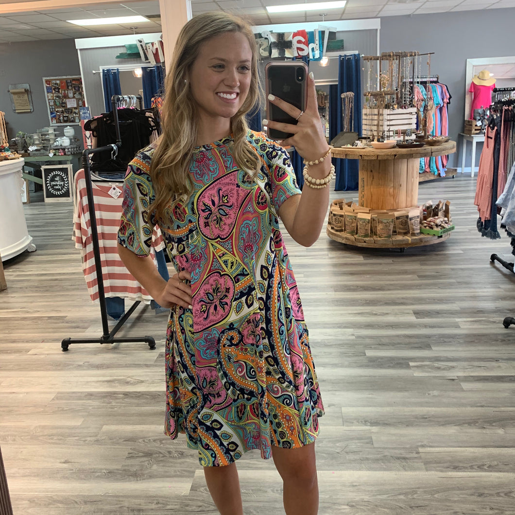 Paisley Perfection Dress