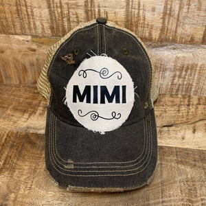 Distressed Mimi Hat