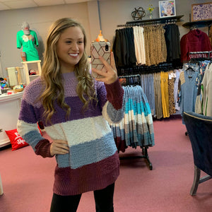 Stripe Perfection Lovely Sweater
