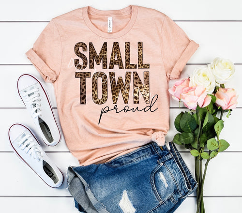 Small Town Proud Tee