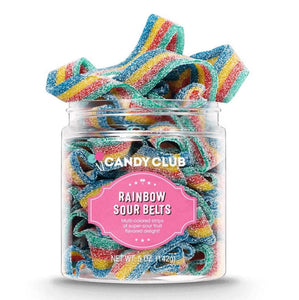 Rainbow Sour Belts Candy Club