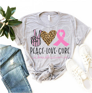 Peace Love Cure Tee