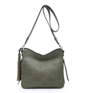 Laurie Hobo Bag ~ Olive