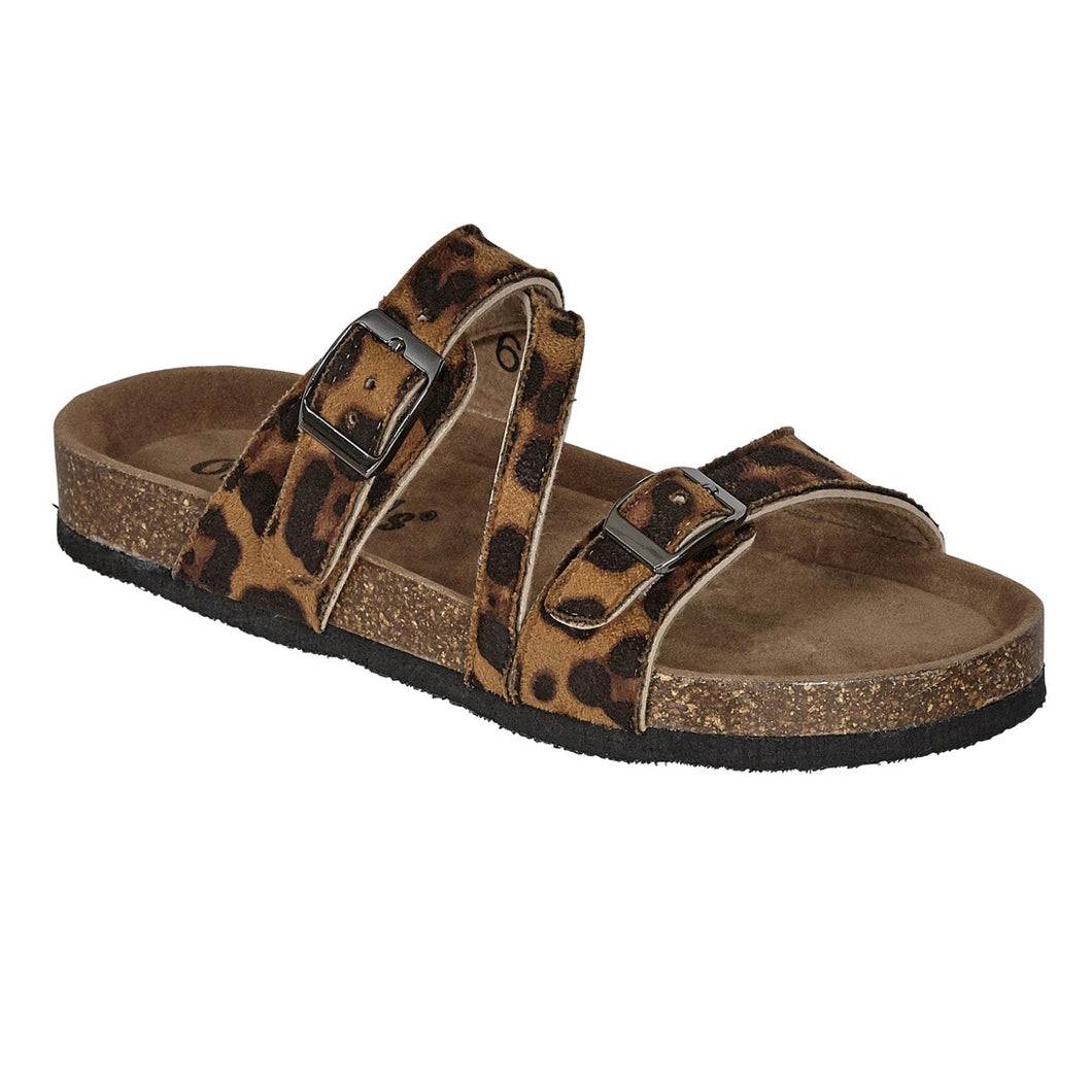 The Mimi Sandal ~ Leopard