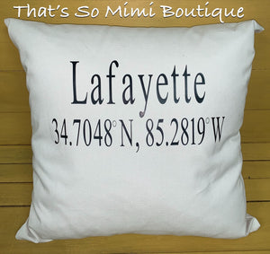 Lafayette Coordinate Pillow
