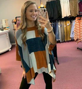 Fall Fun Poncho