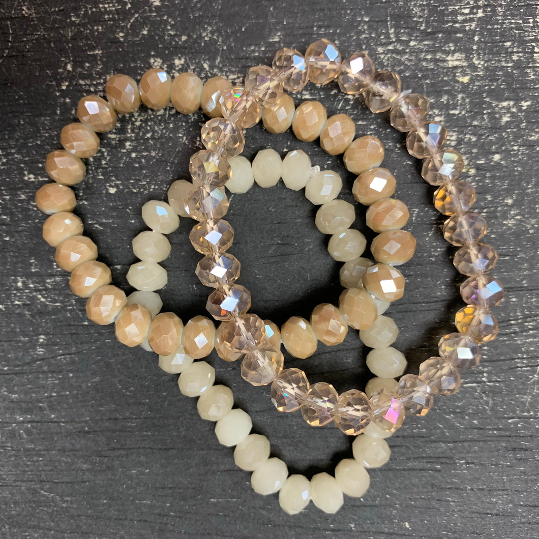 By The Fire Bead Stack Bracelet