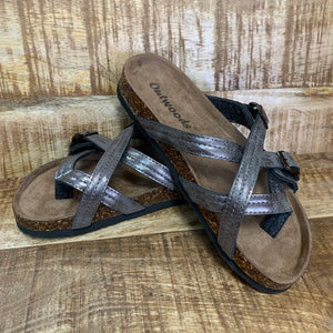 Summer Days Sandal ~ Pewter