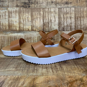 One Call Away Sandal ~ Tan