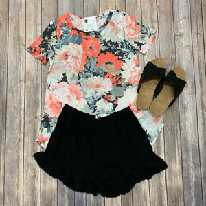 Rhythm & Blooms Top