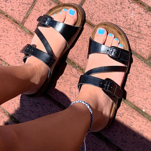 The Mimi Sandal ~ Black