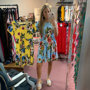 Summer Fun Floral Dress