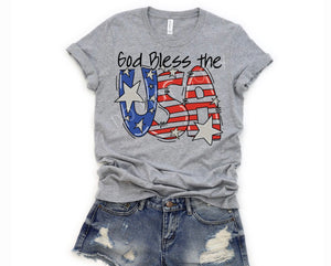 God Bless The USA TShirt