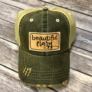 Beautiful Crazy Leopard Patch Hat