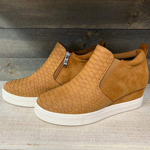 Dream Big Wedge Sneakers