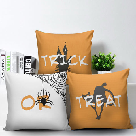 Trick Or Treat Pillow Cover Set