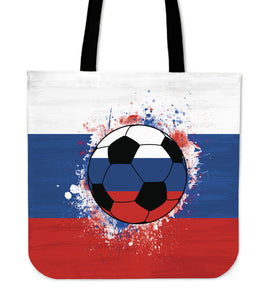 Russia Soccer Tote Bag Collection