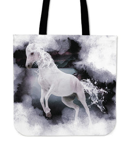 Cloth Tote Bag Macabre Mythology Kelpie