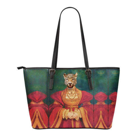 Small Leather Tote - Renaissance Remorphed (Anne of Cleves)