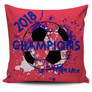 France 2018 World Cup Champions Pillow Covers Collection