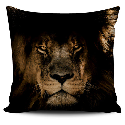Pillow Cover Lion Stare