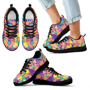 Kid's Sneakers Color Dreams - Black Soles