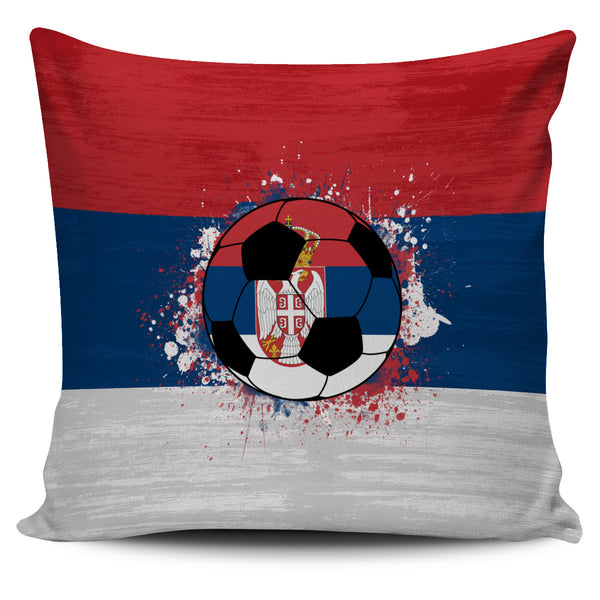 Serbia Soccer Pillow Cover Collection
